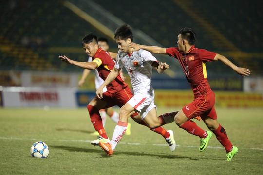 U21 Việt Nam làm khó U19 Việt Nam - Ảnh 2.
