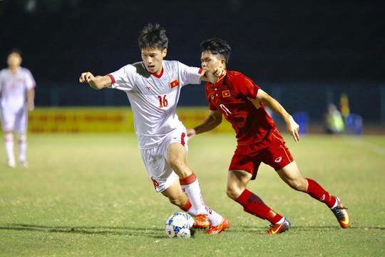 U21 Việt Nam làm khó U19 Việt Nam - Ảnh 3.
