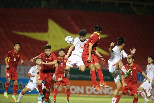 U21 Việt Nam làm khó U19 Việt Nam - Ảnh 1.
