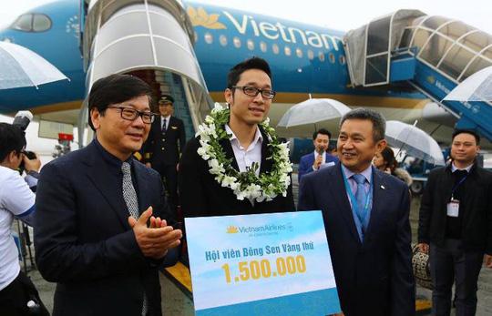 Hàng không đón khách thứ 94 triệu trong năm 2017 - Ảnh 2.