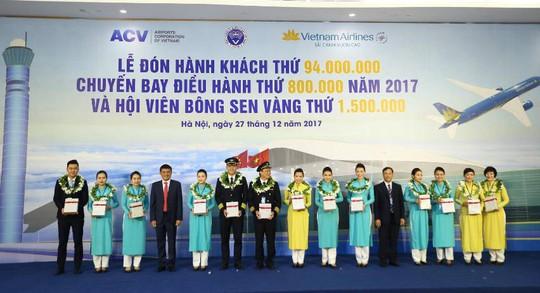 Hàng không đón khách thứ 94 triệu trong năm 2017 - Ảnh 4.