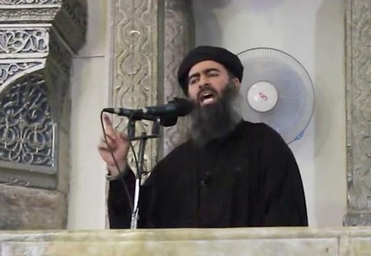 Thủ lĩnh tối cao của IS, Abu Bakr al-Baghdadi. Ảnh: Rudaw