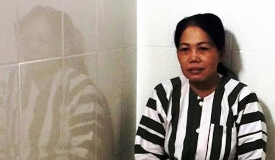 Nữ quái gây mê Phan Thị Kim Loan sa lưới sau khi gây án.