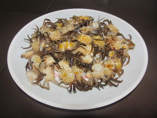 Mê tít canh đam nấu rau tập tàng của mạ - Ảnh 3.