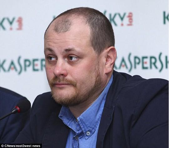 Giám đốc Công ty an ninh mạng Kaspersky Lab Ruslan Stoyanov. Ảnh: C NEWS