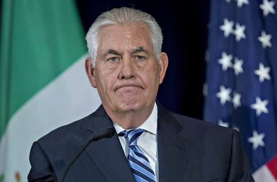 Cuộc họp báo không phóng viên Mỹ của ngoại trưởng Mỹ - Ảnh 1.