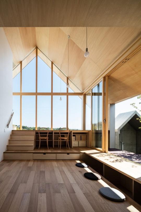 Nhà gỗ cấp 4 đẹp như biệt thự nhờ thiết kế tối giản - Ảnh 4.