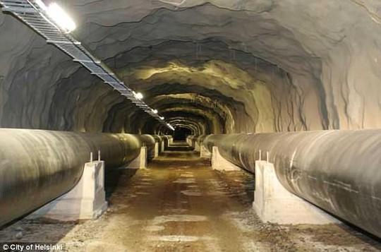 Đề phòng Nga, Phần Lan nâng cấp đường hầm bên dưới thủ đô - Ảnh 3.