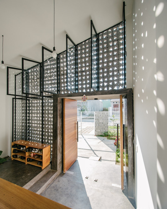 Căn nhà một tầng với thiết kế nổi bật - Ảnh 3.