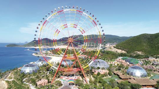 Khai trương vòng quay kỷ lục Sky Wheel cao 120m - Ảnh 3.