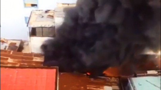 Sập căn nhà cháy, 1 người chết, 2 người bị thương - Ảnh 1.