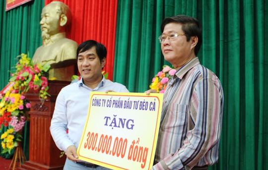 Công ty Đèo Cả và Báo Người Lao Động cứu trợ vùng tâm bão - Ảnh 1.