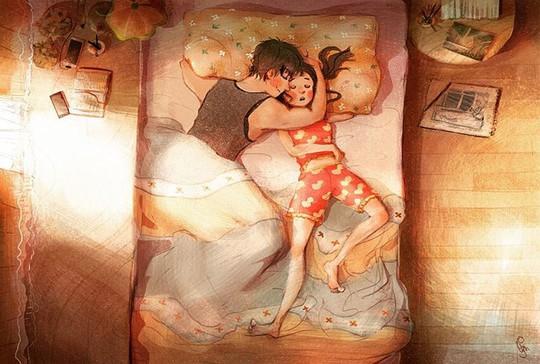 Bộ tranh: Tình yêu đến từ những điều nhỏ nhặt nhất - Ảnh 3.