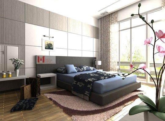Phòng ngủ thêm xinh trong những ngày xuân. Ảnh minh họa