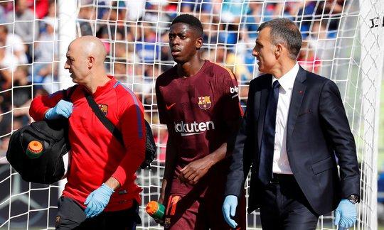 Tân binh đắt giá nhất của Barca nghỉ 4 tháng vì chấn thương - Ảnh 1.