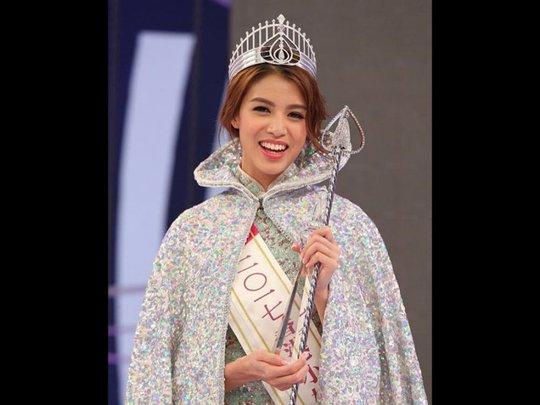 Cận cảnh nhan sắc Tân Hoa hậu Hồng Kông 2017 - Ảnh 1.