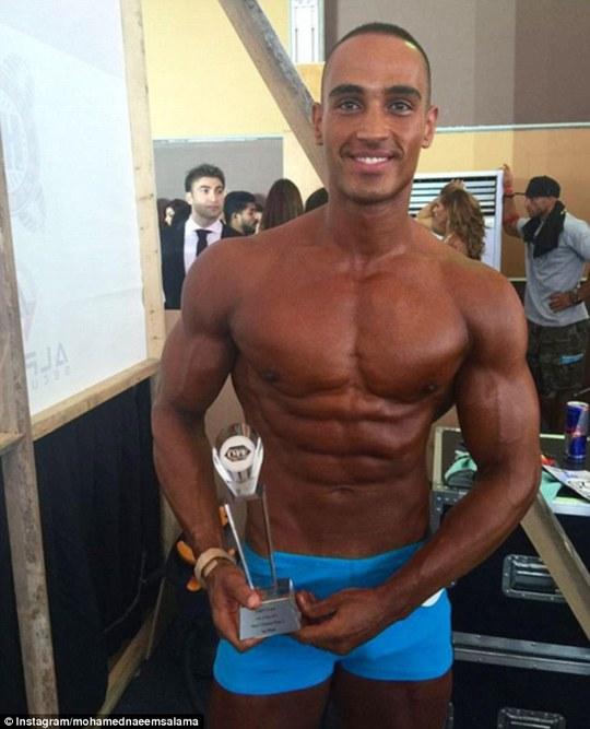 Mohamed Naeem Salama còn là một vận động viên thể hình