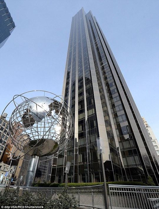 Tòa tháp 52 tầng. Ảnh: REX