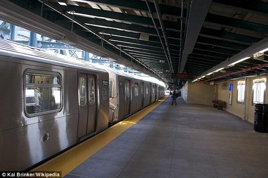 Ga tàu điện ngầm Smith–Ninth Streets. Ảnh: Daily Mail