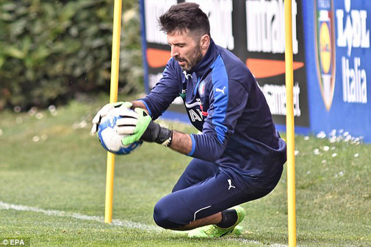 Buffon có thể phá kỷ lục trở thành thủ môn thi đấu cho ĐTQG nhiều nhất thế giới nếu ra sân đều đặn cùng tuyển Ý