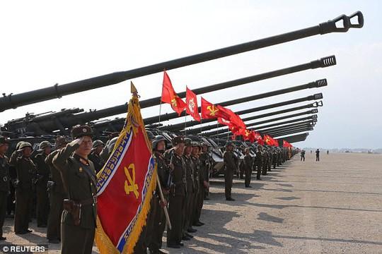 """Triều Tiên dọa """"xóa sổ"""" Mỹ - Hàn bằng 5 triệu bom nguyên tử - Ảnh 1."""