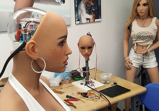 Coi chừng mất mạng vì robot tình dục - Ảnh 1.