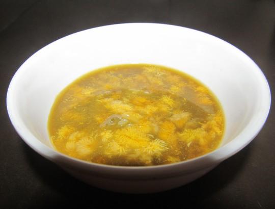 Mê tít canh đam nấu rau tập tàng của mạ - Ảnh 4.