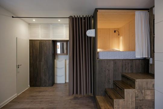 Căn hộ 35 m2 siêu đẹp với hộp ngủ tiết kiệm diện tích - Ảnh 4.