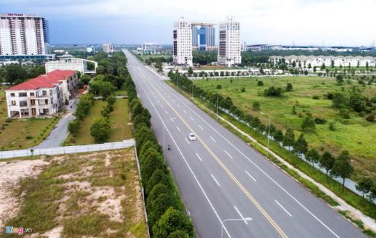 Thành phố 1.000 ha nhiều năm hoang vắng ở Bình Dương - Ảnh 4.