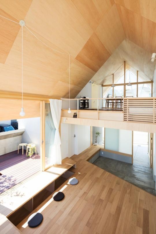 Nhà gỗ cấp 4 đẹp như biệt thự nhờ thiết kế tối giản - Ảnh 5.