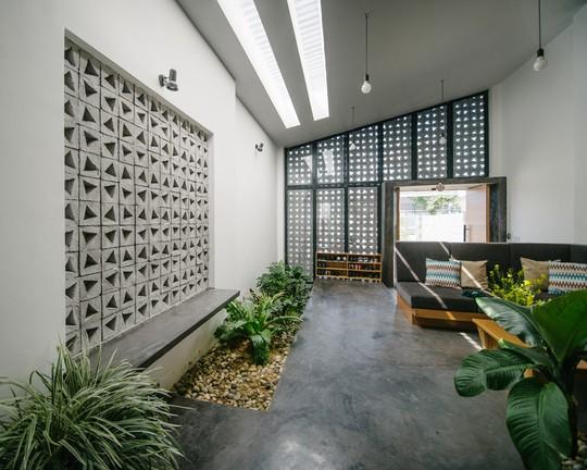Căn nhà một tầng với thiết kế nổi bật - Ảnh 4.