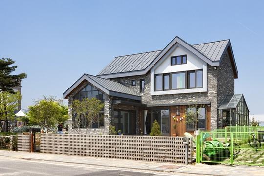 Ngôi nhà với phong cách tối giản đẹp như trong phim ở Hàn Quốc - Ảnh 4.