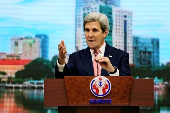 Đây là chuyến thăm cuối cùng của ông Kerry trên cương vị Ngoại trưởng Mỹ, đi qua 4 nước, trong đó Việt Nam là nước châu Á duy nhất.