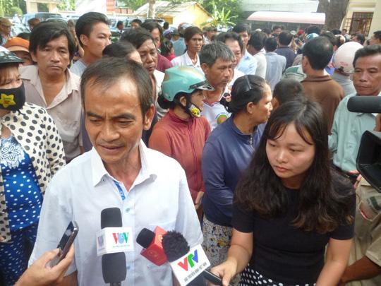 Ông Huỳnh Văn Nén trong ngày được minh oan vào tháng 12-2015
