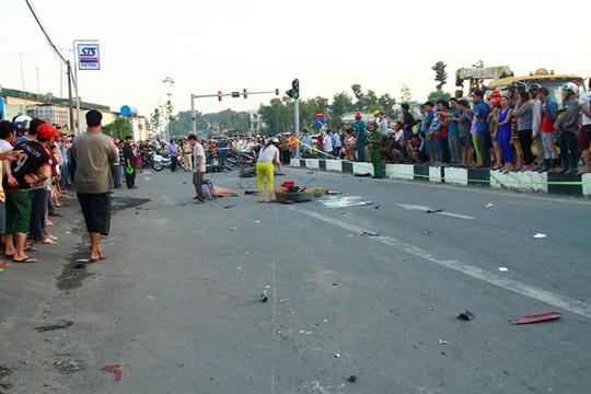 Báo cáo Công an tỉnh vụ xe khách tông chết 2 cháu bé - Ảnh 2.