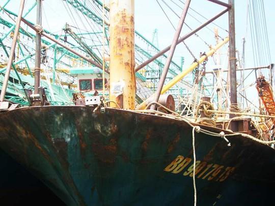 Đề nghị công an điều tra vụ tàu vỏ thép bị hỏng - Ảnh 1.