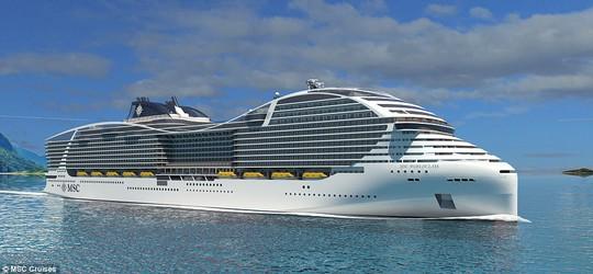 """Thiết kế độc của du thuyền """"hiện đại nhất thế giới"""" - Ảnh 1."""