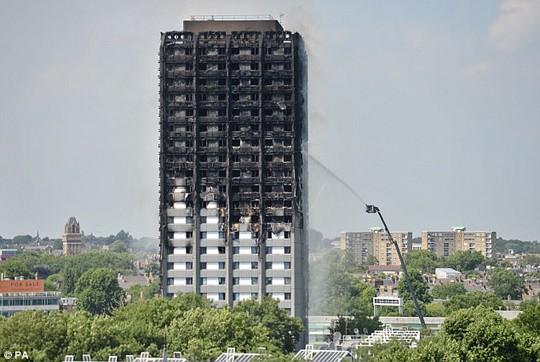 Động viên nạn nhân chung cư bị cháy, Adele được khen - Ảnh 4.
