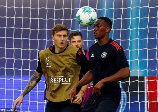 M.U, Real Madrid sẵn sàng cho Siêu cúp châu Âu - Ảnh 4.