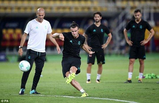 M.U, Real Madrid sẵn sàng cho Siêu cúp châu Âu - Ảnh 8.