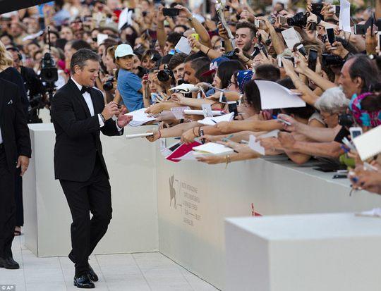 Matt Damon lịch lãm tại khai mạc LHP Venice - Ảnh 3.