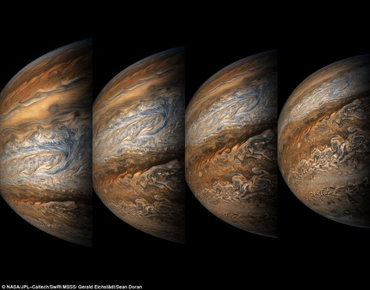 Cận cảnh Sao Mộc và hai mặt trăng kỳ ảo - Ảnh 2.