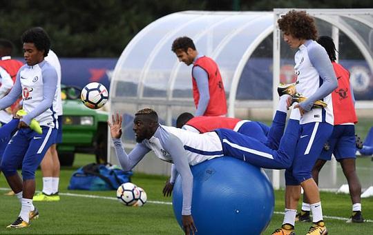 Chelsea tập bài dị trước đại chiến Arsenal - Ảnh 7.