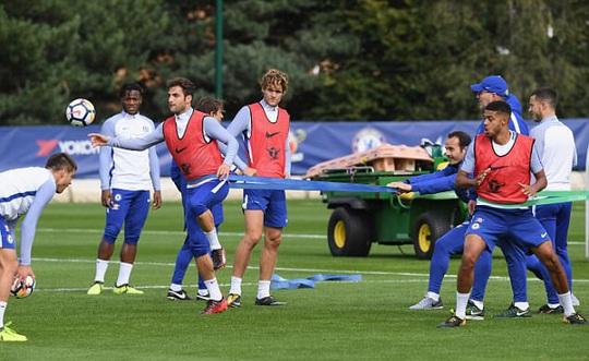 Chelsea tập bài dị trước đại chiến Arsenal - Ảnh 5.