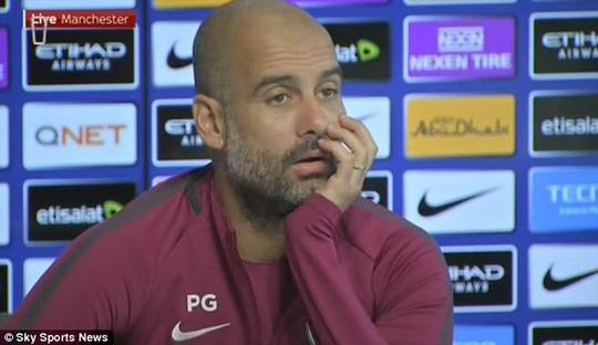 Guardiola không lo lắng khi vắng Aguero - Ảnh 1.