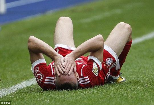Ribery có nguy cơ giã từ sự nghiệp vì chấn thương - Ảnh 1.