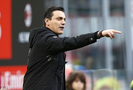 Milan sa thải Montella, đưa Gattuso lên thay - Ảnh 1.
