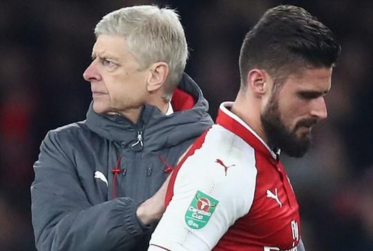 Wenger báo tin buồn về Giroud - Ảnh 2.