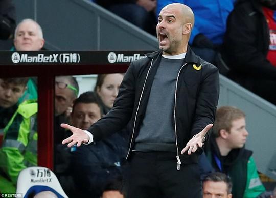 Man City đứt mạch 18 chiến thắng sau trận hòa hú vía - Ảnh 1.
