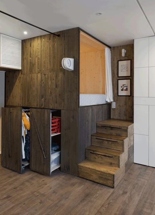 Căn hộ 35 m2 siêu đẹp với hộp ngủ tiết kiệm diện tích - Ảnh 5.